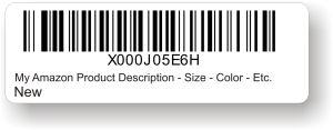 fnsku label