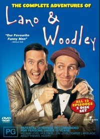 Adventures of Lano and Woodley DVD