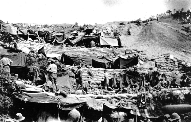 Australian_and_New_Zealand_Army_Corps-media-File-Anzac_Cove_encampment_1915