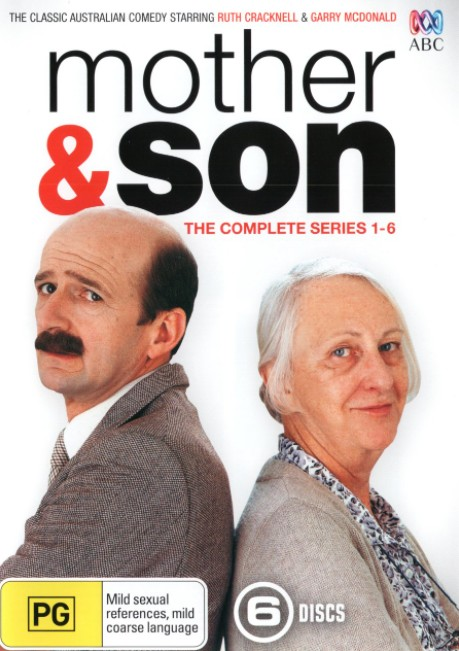 DVD cover for Mother and Son Australian Show