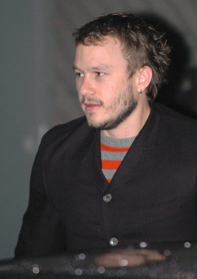 Heath Ledger in 2006, two years before his death