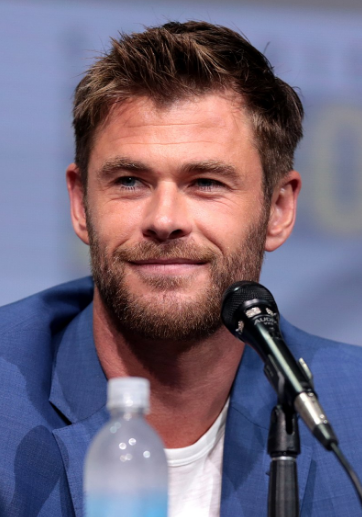 Image of Chris Hemsworth from 2017 at San Diego Comic-con.
