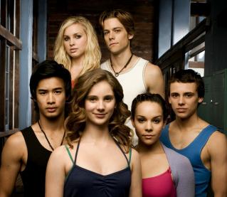 Image of Dance Academy Cast.
