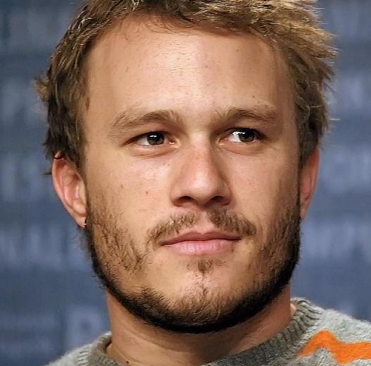 Image of Heath Ledger.