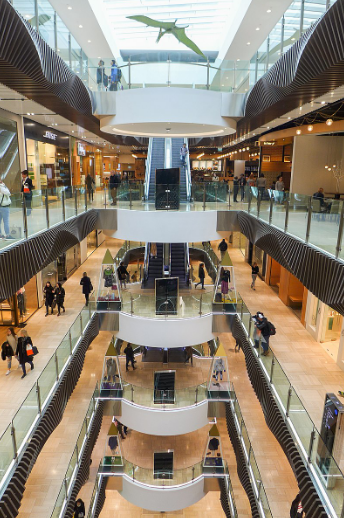 Internal view of Emporium, Melbourne.