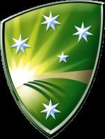 Logo of Cricket Australia.