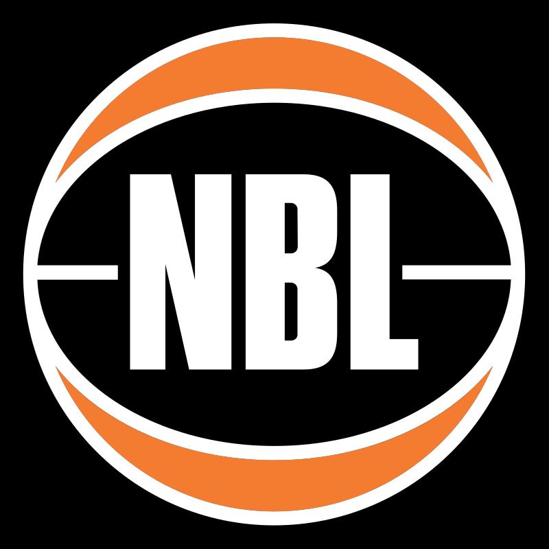 Logo of National Basketball League Australia.