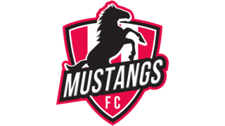 Logo of the Mustangs Fc.
