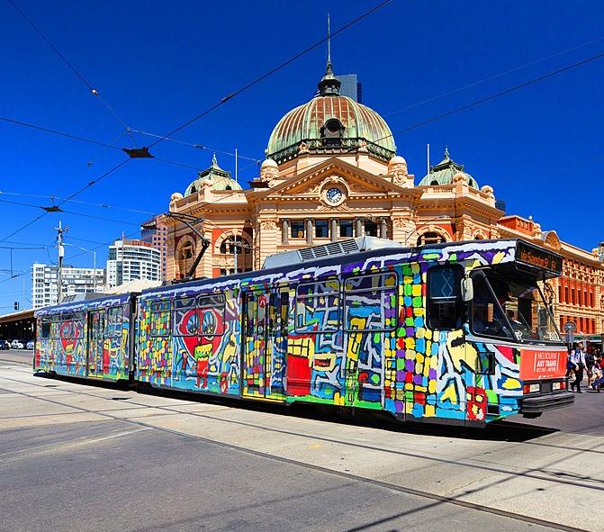 Matthew_Clarkes_Melbourne_Art_Tram