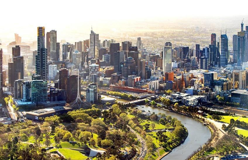 Most days in Australia are sunny
