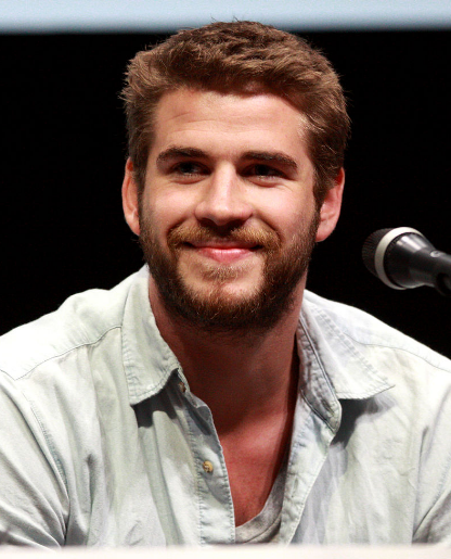 Picture of Liam Hemsworth from 2013 at a comic con.
