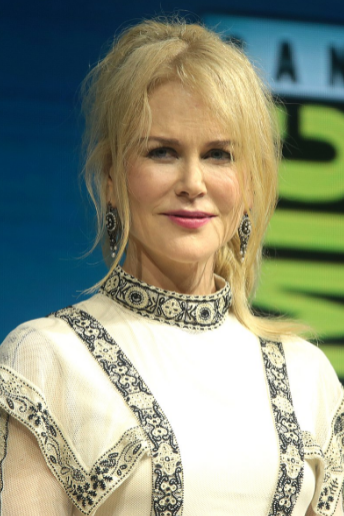 Picture of Nicole Kidman at the 2018 San Diego comic-con.