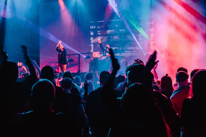 People enjoying in a concert