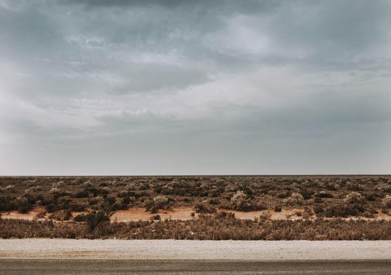 The Nullarbor Plain, South Australia heading to Western Australia