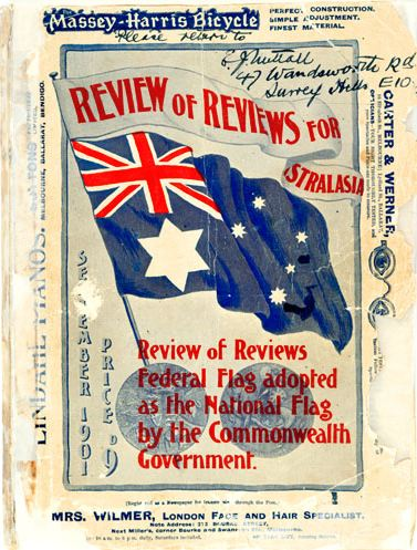 The Federal Flag Design Competition in 1901